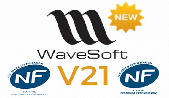 La nouvelle version 21 de l'ERP WaveSoft est conforme à la loi anti-fraude TVA