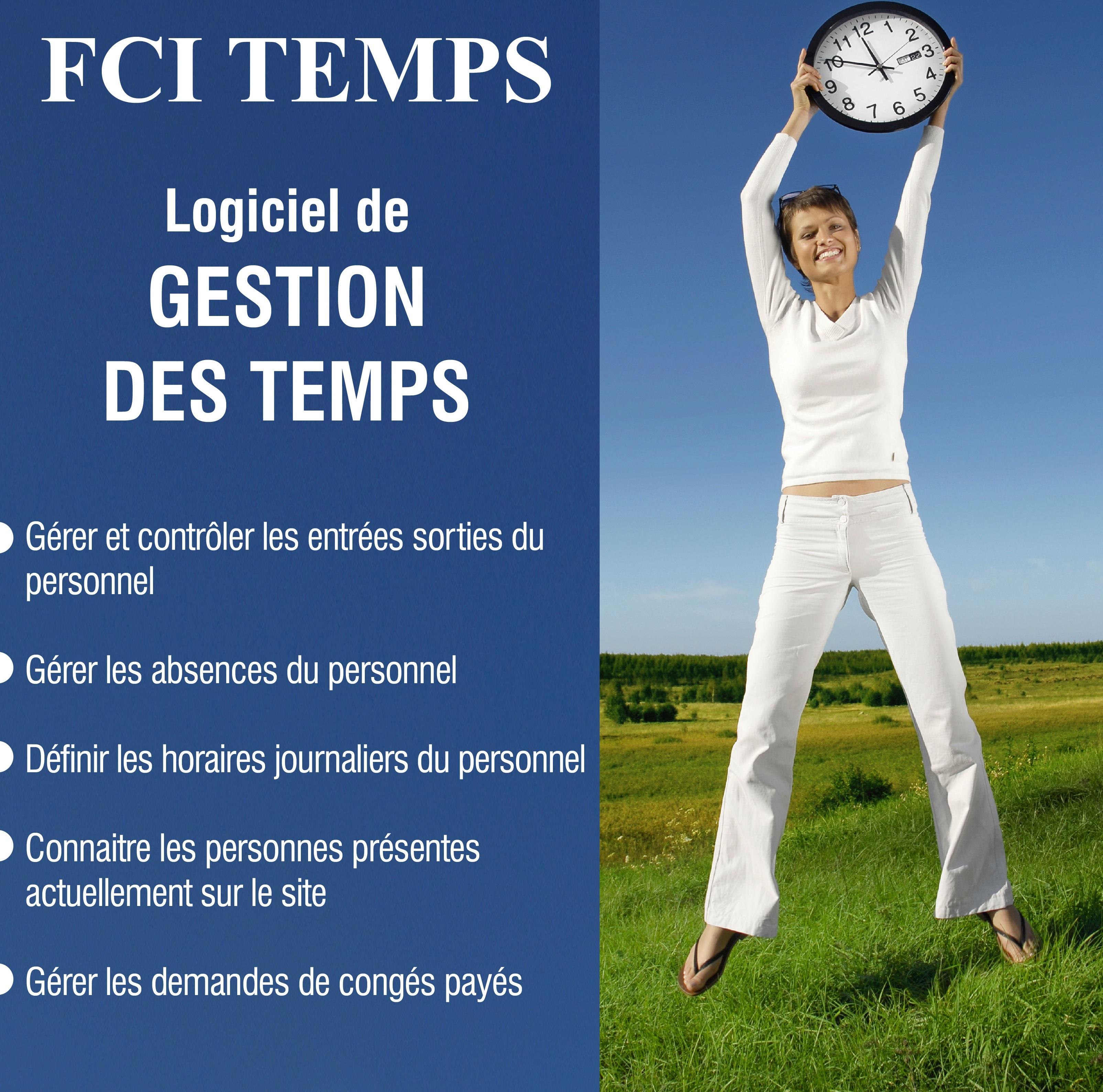 FCI Temps - logiciel de gestion des temps